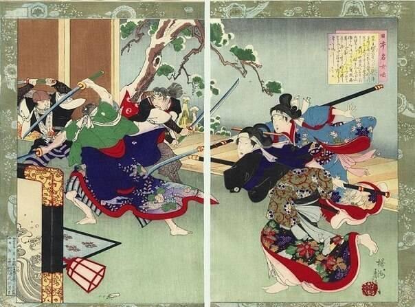 Нагината – смертоносное японское оружие