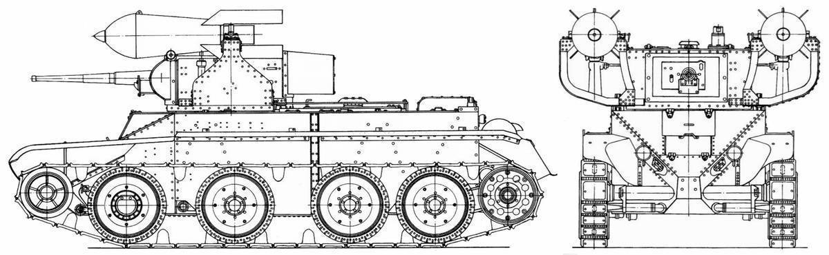 Бт-5: единство и борьба противоположностей : американский легкий танк на службе красной армии   : off-road drive