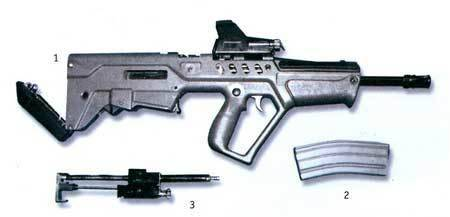 Штурмовые винтовки vektor r4 / r5 / r6