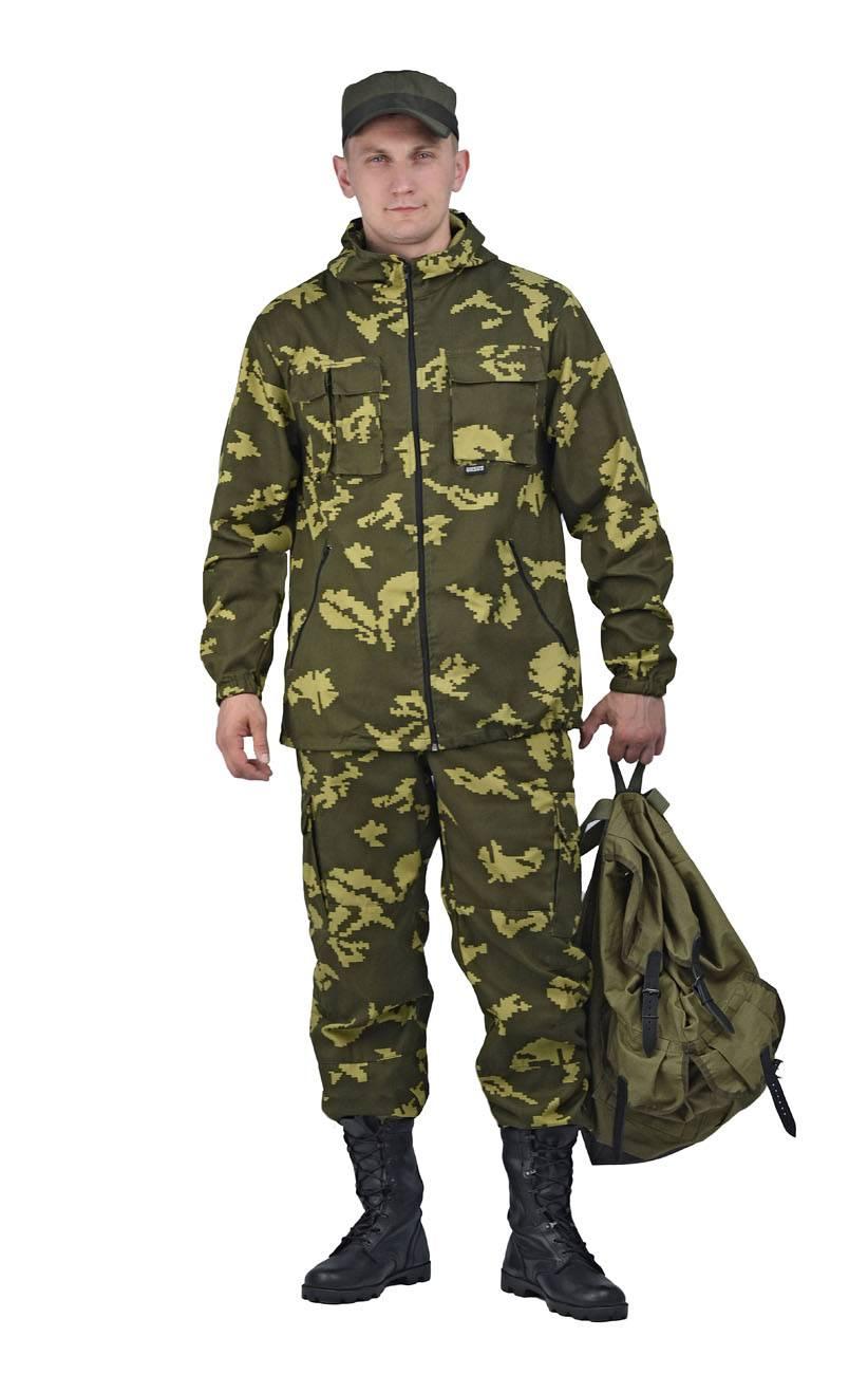 Зимний камуфляж российской армии. зимний и летний камуфляж: как военная одежда прижилась в быту