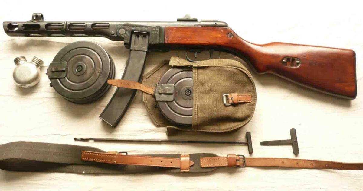 Автомат ппш-41: устройство и технические характеристики