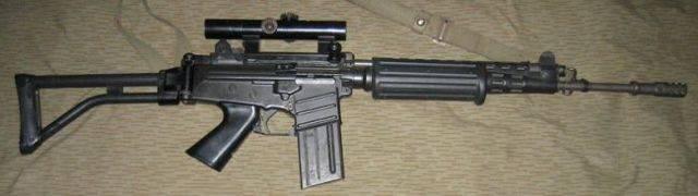 Видео: штурмовая винтовка fn cal