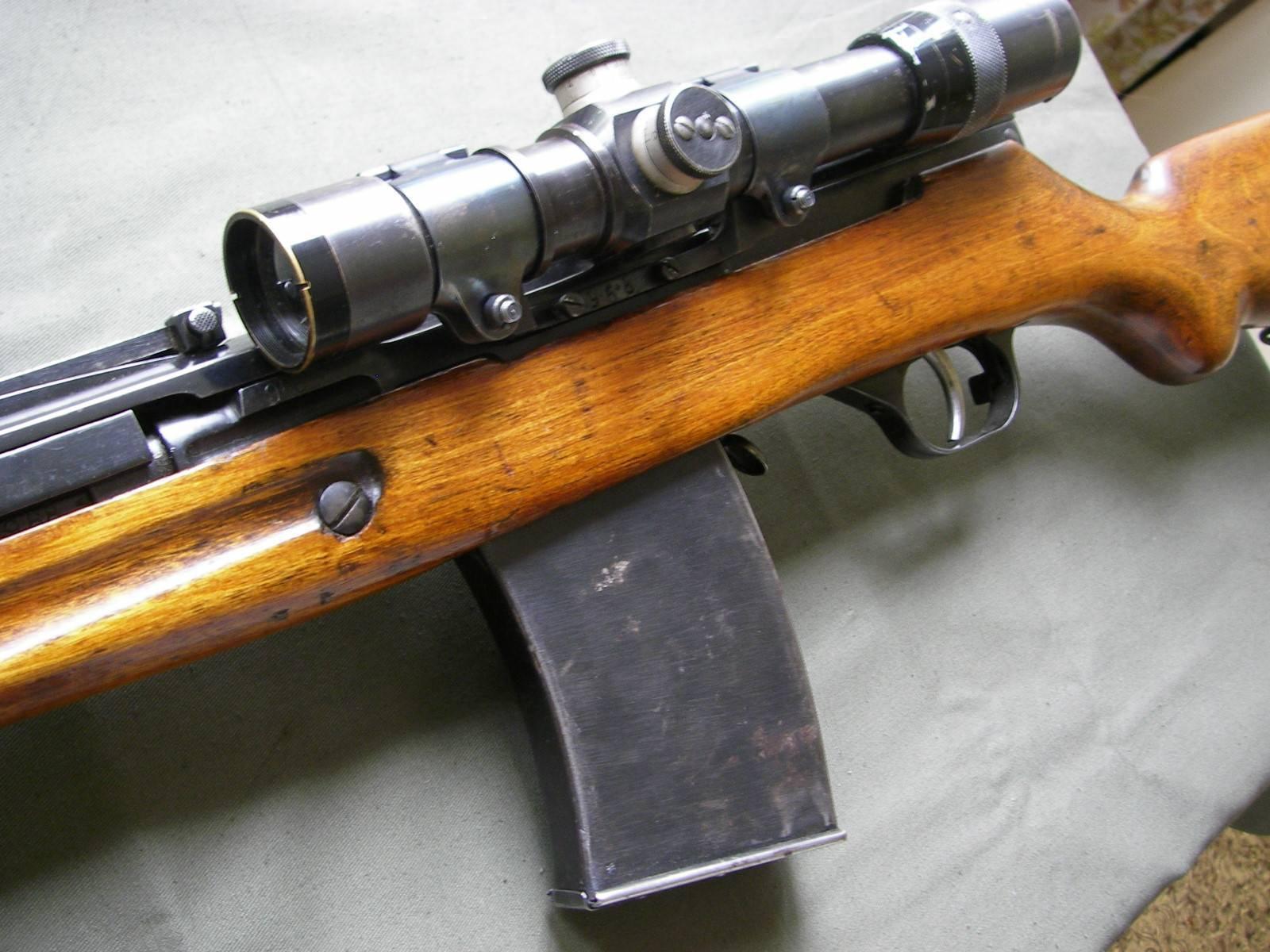 Автоматическая винтовка симонова — википедия