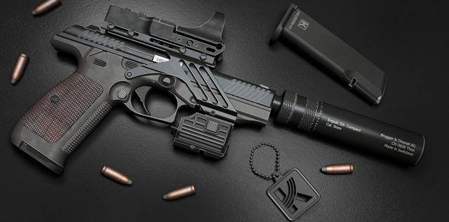 Mab model d пистолет - mab model d pistol