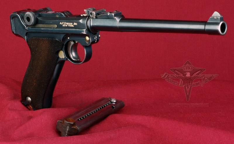 Borchardt-luger model 1900 пистолет — характеристики, фото, ттх