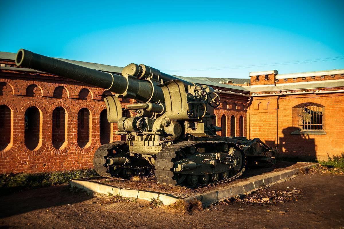 Орудие Резерва Главного Командования 203-мм гаубица Б-4 1931 года