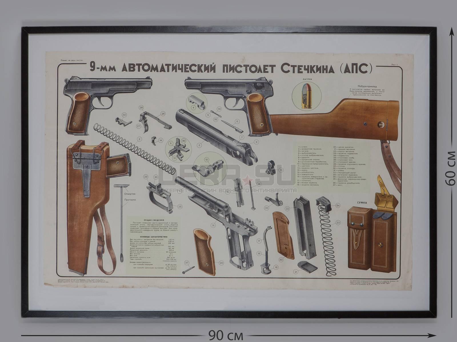 Пистолет №2. короткая история и долгая жизнь апс