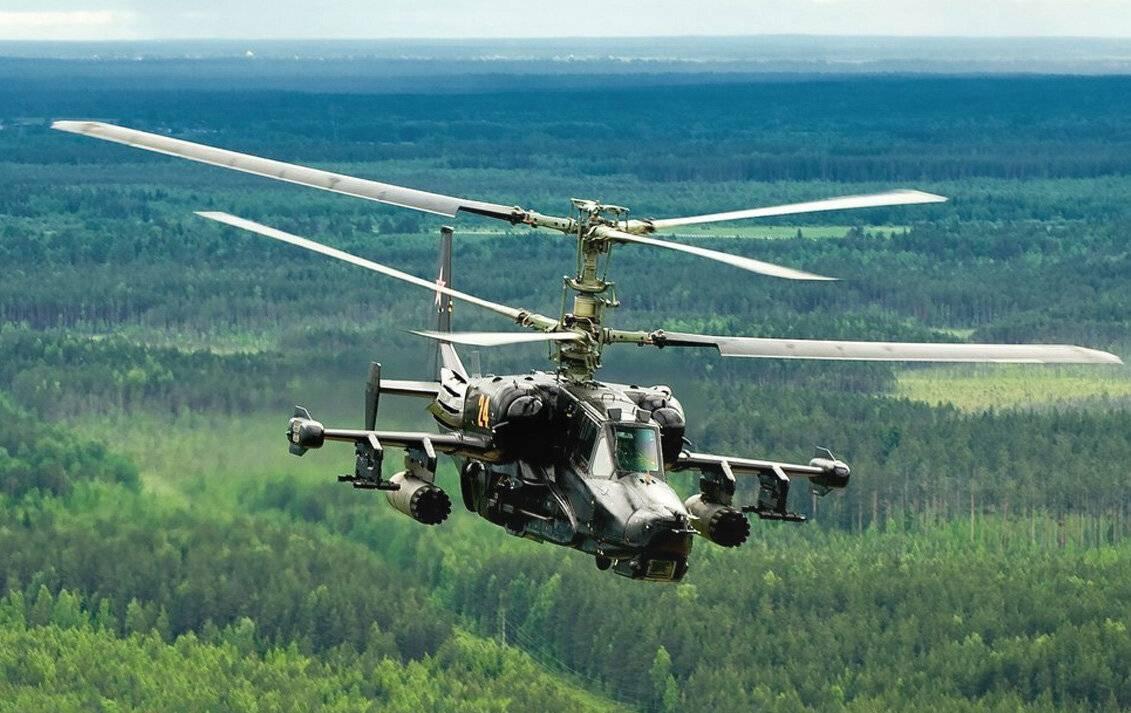 Вертолёт к-50 «черная акула». фото. видео. характеристики.