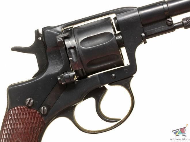 Наган образца 1892 года. история модели и совершенство оружия. знаменитый 7.62-мм револьвер наган