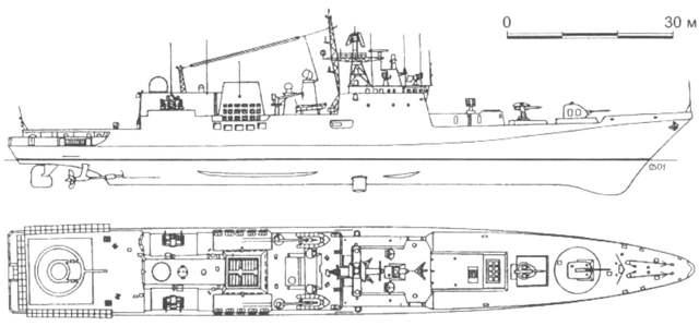 Сторожевые корабли проекта 11540 — википедия переиздание // wiki 2