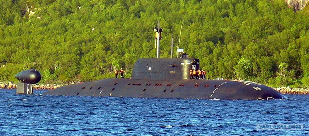 Подводные лодки проекта 945 «барракуда»