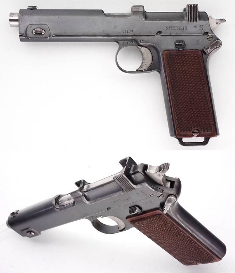 Steyr m1912 — википедия. что такое steyr m1912
