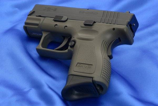 Пистолет springfield armory xd tactical