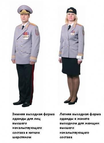 Форма полиции нового образца: рассматриваем фото и изучаем описание