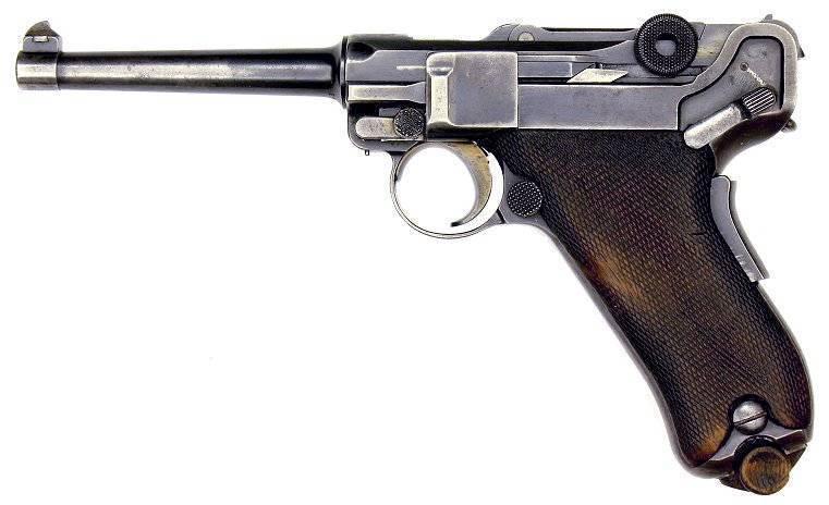 Люгер пистолет - luger pistol