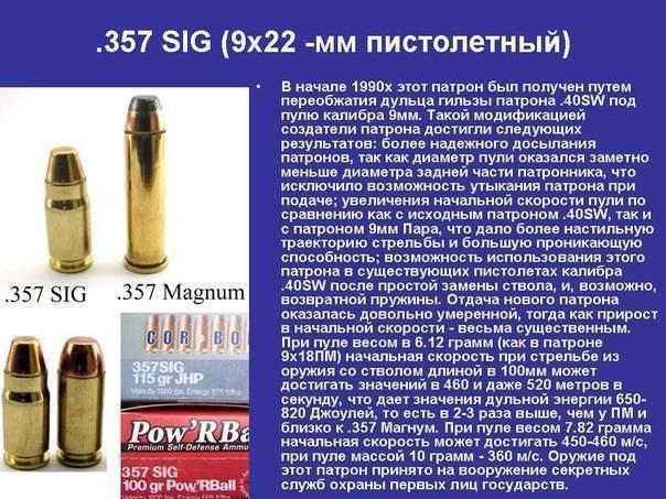 .357 sig | энциклопедия вооружения