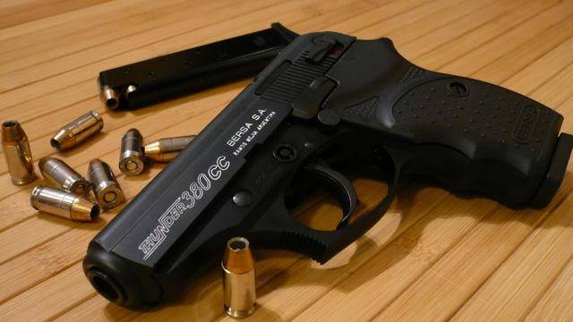Gun review: bersa thunder 380 concealed carry