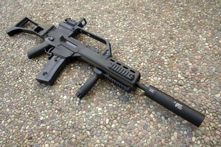 Видео: штурмовая винтовка heckler & koch g11