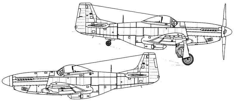 Норт америкэн p-51 «мустанг»