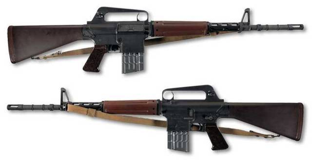 Автоматическая винтовка armalite ar-10