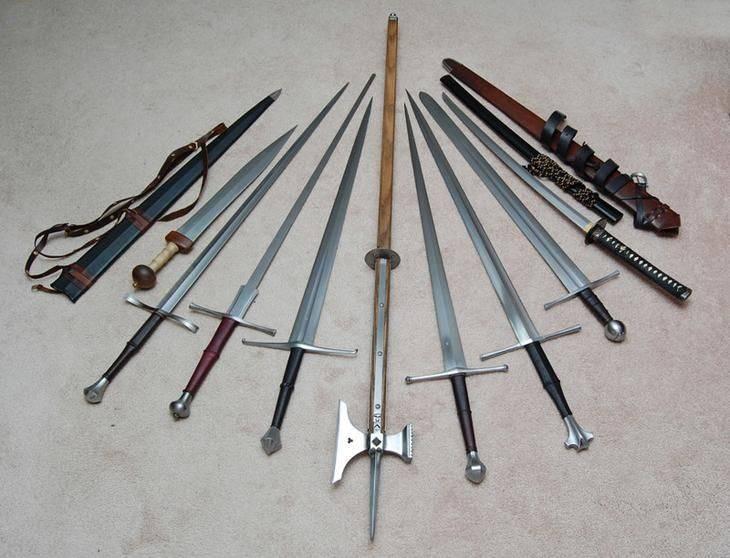 История фехтования+оружие