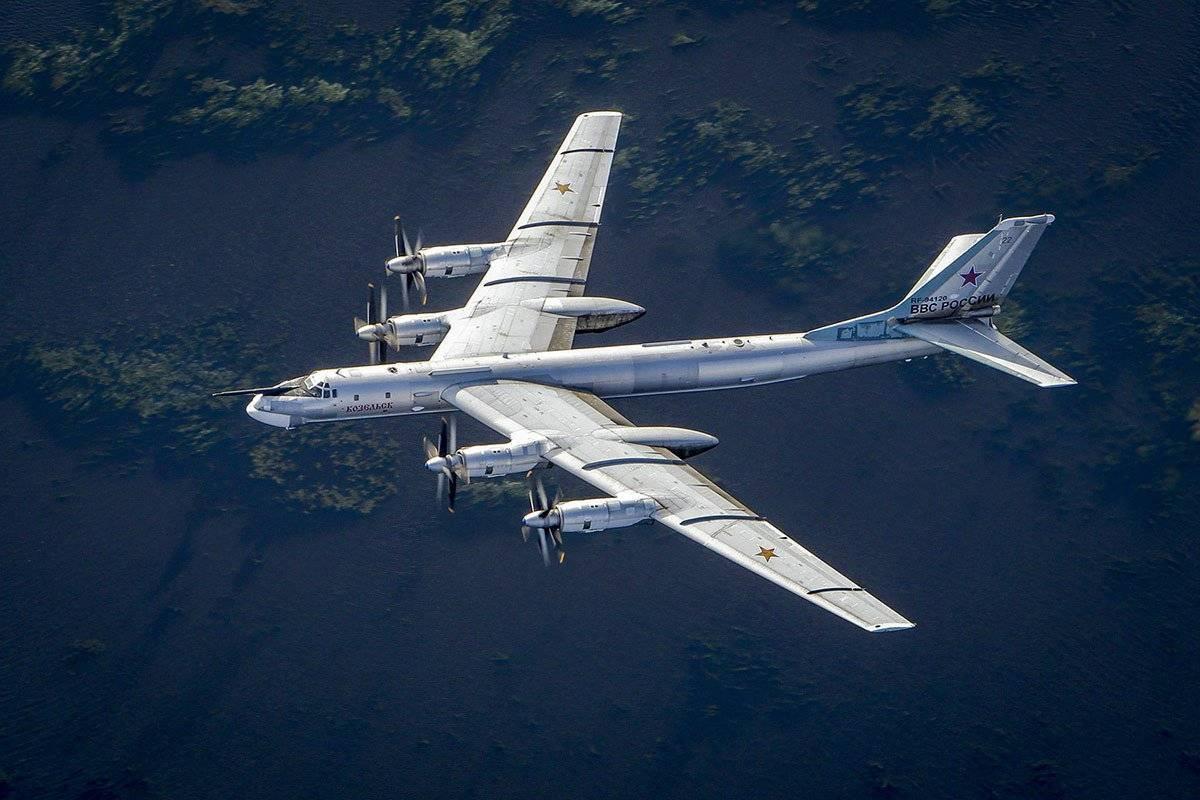 Стратегический бомбардировщик и морской патрульный самолет ту-95