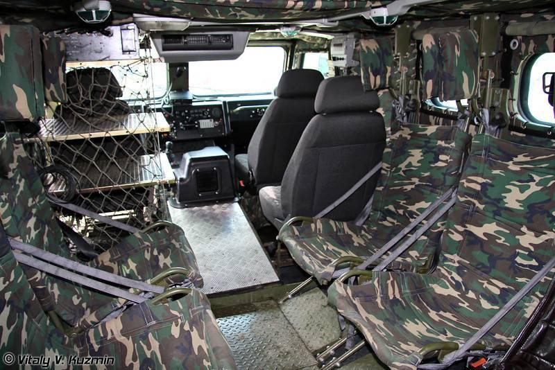 Многоцелевой бронеавтомобиль газ-2330 «тигр» (россия) | армии и солдаты. военная энциклопедия