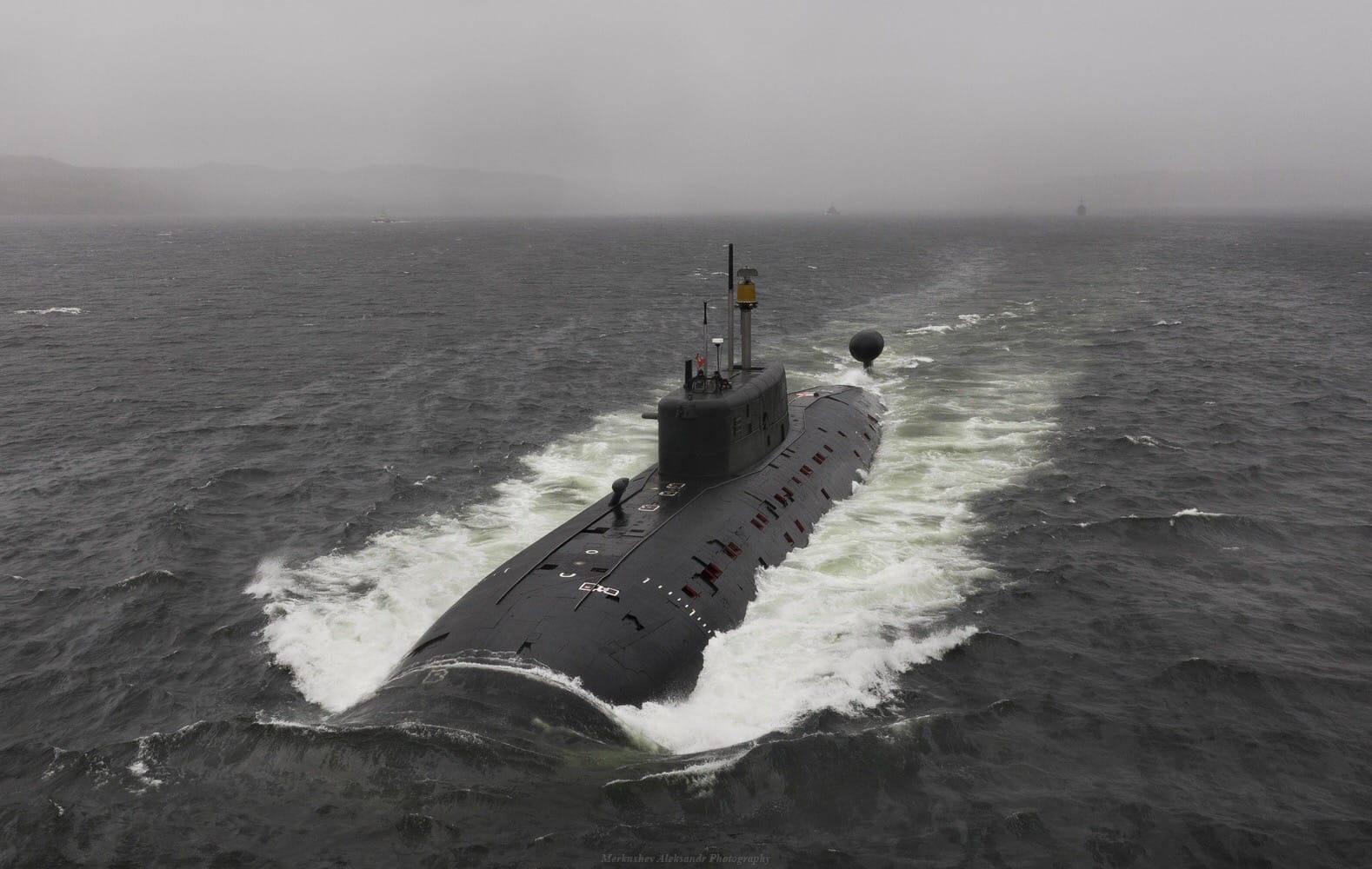 Подводные лодки проекта 945а википедия
