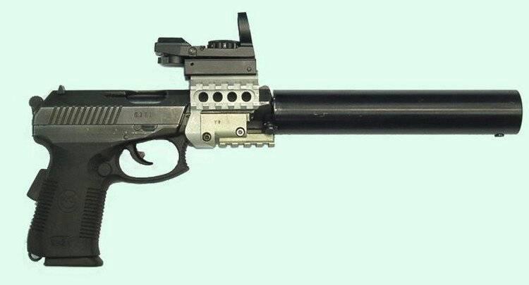 Самозарядный пистолет сердюкова вики