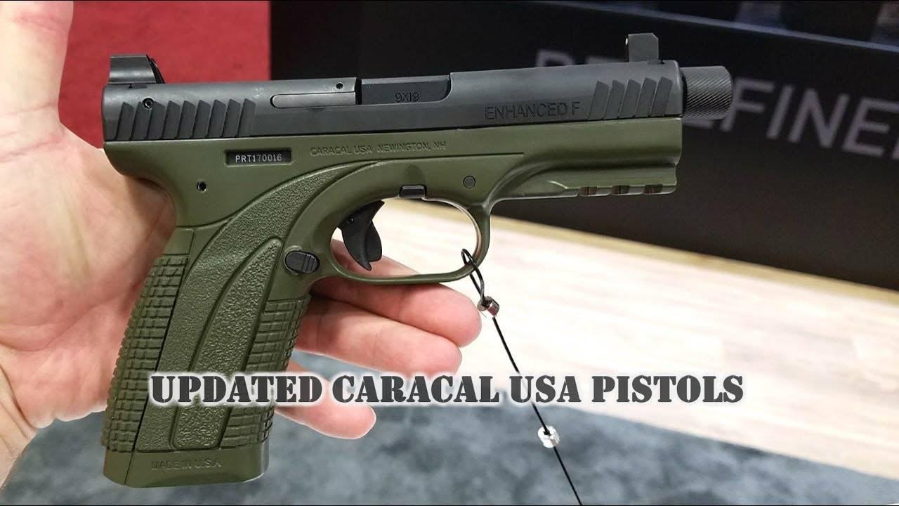 Сравнение самозарядных пистолетов glock 17 и caracal f