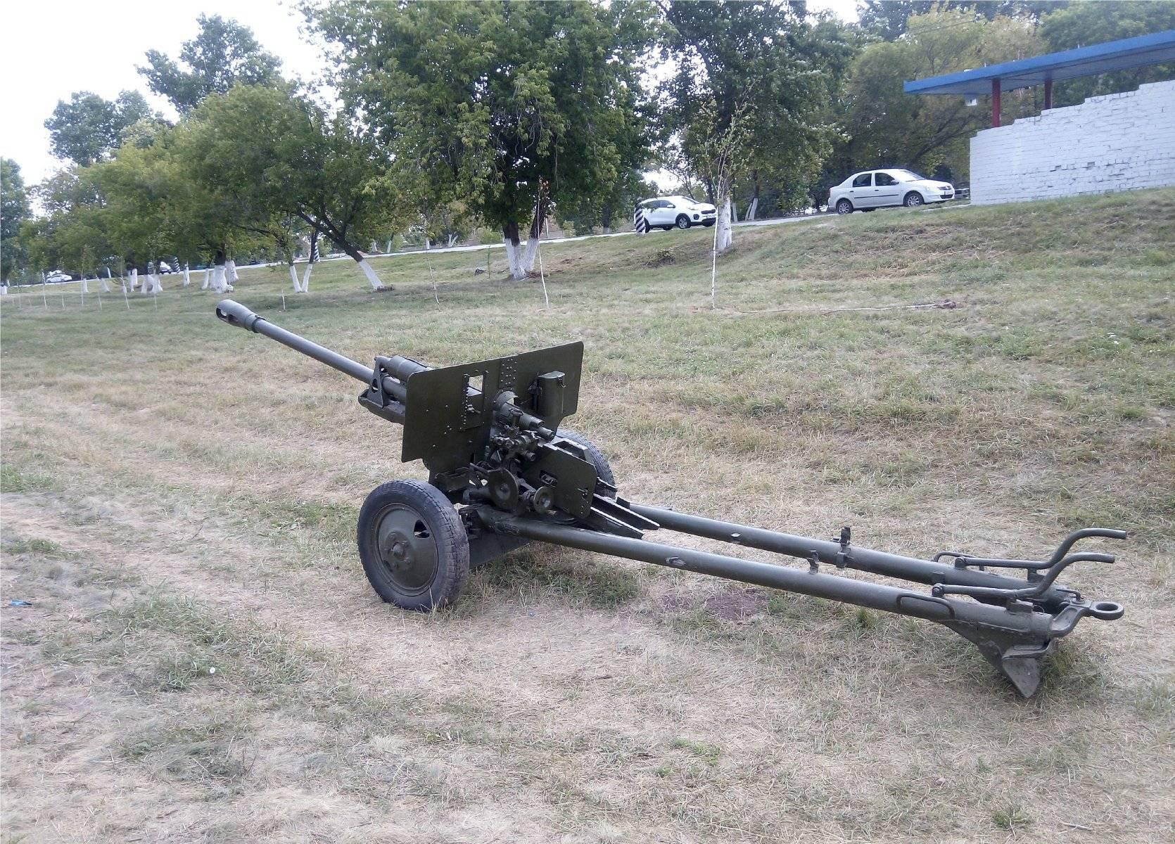 76 мм дивизионная пушка m1942 (зис-3) - 76 mm divisional gun m1942 (zis-3)