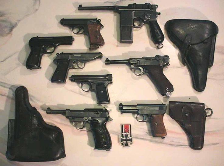 Пистолет Вальтер P38